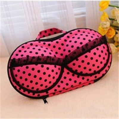 Convenient Bra Storage Bag Rosy