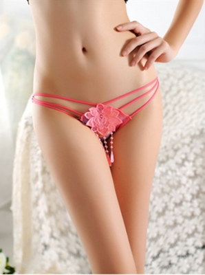 Hot Sexy Women  Boyshorts Bandeau  Floral Panties Watermelon Red