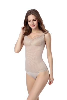 Wholesale Woman Sexy Body Slimming Shaper Apricot
