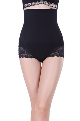 Black Sexy Cheap Women Seamless High Waist FlashLift Postpartum Shapewear