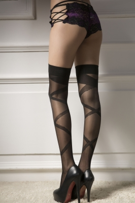 Wholesale Sexy Stripe Silk Stockings