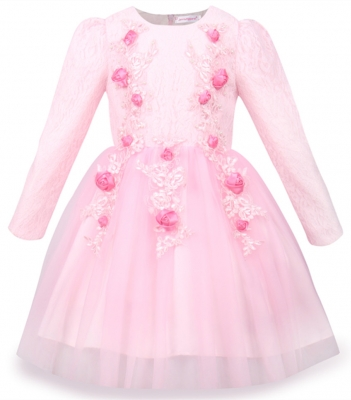 Girl Dress Kids Party Wedding Dresses With Flower