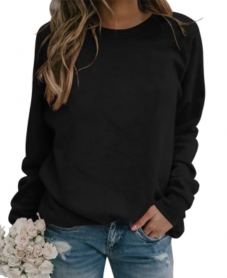 Women Crewneck Pullover Knitted Sweater