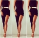 High collar hem irregular party dress Bodycon Slim Cocktail Fancy Dress Clubwear dress