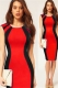 Wholesale Newest Night clubwear Red