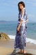 Long cover-up beach dress