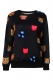 Black Emotions Smiley Face Sweatshirt
