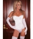 Hot Sell Sexy Classy Bustier White