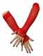 Long Sleeves Gloves Red