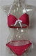 New Push-up Beach Bikini Set  Rosy