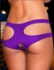 Women Sexy Hollow Out Panty Purple