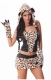 Women Sexy Leopard Cat Girl Halloween Costume