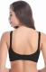Put-Ups Seamless Front Buttom Nursing Bra Black
