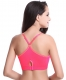 Watermelon Red Jarless Put-Ups Underwired Yoga Bra