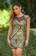 Geometry Sequin Patchwork Women Sexy Party Clubwear Gold
