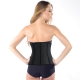 New Arrival  Breathable Rubber Women Corset Black