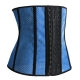New Arrival  Breathable Rubber Women Corset Blue