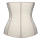 New Arrival Breathable Rubber Women Corset Apricot