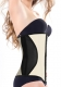 Straps Royal Rubber Women Corset Ivory