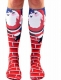 3D Print Patterns Knee Socks Knee High Socks Cute