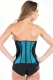 Rubber plastic body clothing perforated women's sports corset