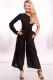 Sexy One-shoulder Temperament Long sleeve Jumpsuit