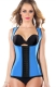 Rubber Belly in Mention Hip One-piece Corset