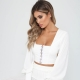 Women Summer Backless Strappy Sexy Blouse Top