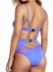 Uhnice Woman Sexy Bikini Solid Color One Piece Swimsuit