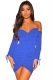 Long sleeve off-shoulder Drawstring bodycon dress