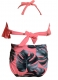 Girl Bathing Suit Lotus Leaf Edge Two Pieces Swimwear Family Matching Bikini Set