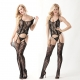 Sexy Lingerie Wholesale Jacquard Weave Bodystocking