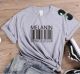 Fashion Women Tops Printed Short Sleeves T-Shirts Solid Color