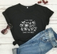 Women Casual Letter Printed PLANT THESE SAVE THE BEES