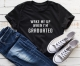 Women Casual Letter Printed T-Shirts WAKE ME UP WHEN I AM GRADUATED